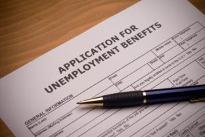 unemployment application child support