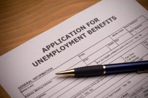 unemployment application child support