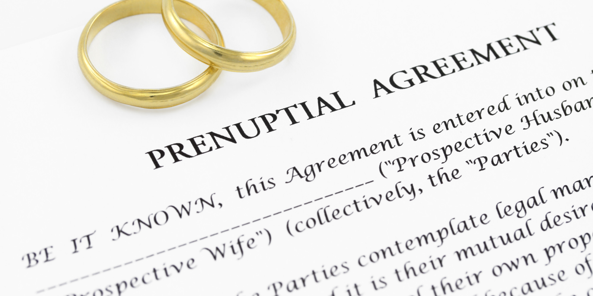 How Much Does The Date Matter When Signing A Prenuptial Agreement
